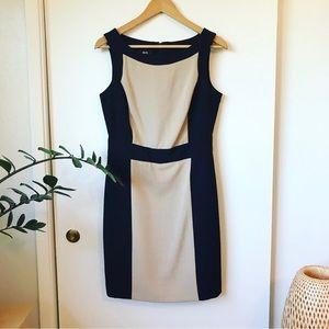 Two Tone Sheath Dress